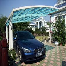 Modern Carport Polycarbonate Railing Polycarbonate Railing Suppliers And