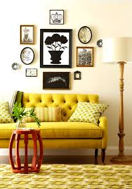 lovables inspired room designing with mustard and chartreuse