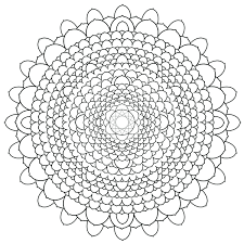 coloring pages for adults difficult abstract trends mandala