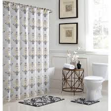 Grey Bathroom Rugs Bath Fusion Cameron 18 In W X 30 In L Bath Rug Set And 72 In W