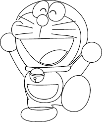 doraemon colouring pages print kids free coloring pages