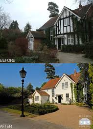 tudor house elevations traditional gem remodelled from a mock tudor disaster this