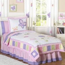sweet jojo designs girls u0027butterfly u0027 3 piece full queen comforter