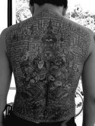 aesthetics exploration u2013 thai tattoo culture