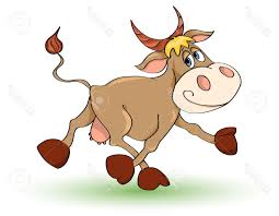 best free cow caricatures vector image free vector art images