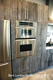 Reclaimed Kitchen Cabinet Doors Reclaimed Wood Kitchen Cabinets For Sale Find Pin Barn Wooden