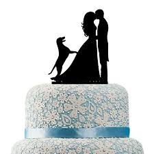 wedding cake topper with dog buythrow wedding cake topper with dog labrador with dog