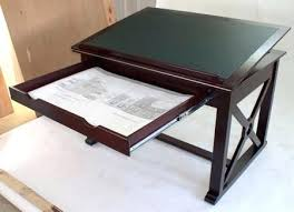 Vintage Wooden Drafting Table Architect Drafting Light Table Vintage Architect Drafting Table