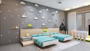 Bedroom 3d Design 3d Model Architecture Children Bedroom Cgtrader