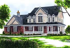 two story farmhouse two story farmhouse 89153ah architectural designs house plans