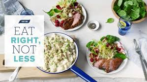 atkins eat right not less book by colette heimowitz official