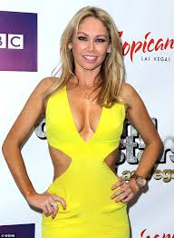 cutting hair so it curves under kym johnson puts her curves on display in revealing neon cut out