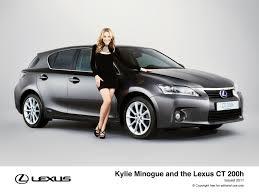 lexus hatchback 2011 kylie promotes lexus hybrid drivingtalk
