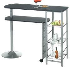 mange debout cuisine table haute de cuisine avec rangement table bar haute cuisine pas
