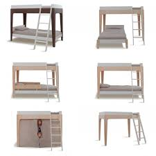 Oeuf Perch Bunk Bed Special For Your Childrens Bedroom Green - Oeuf bunk bed