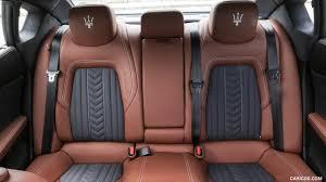2017 maserati quattroporte gts granlusso interior rear seats