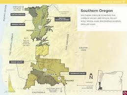 Oregon Wine Country Map by Launching Summer 2016 A New Oregon Wine Education Website