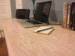 Diy Mdf Desk The Measure Diy Tip How To Pretty Up That Mdf Table You