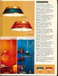 Lighting Catalog Sears 1968 Catalog Lighting Page Showing A Variety Of Swags Lamps