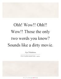ohh ohh those the only two words you sounds