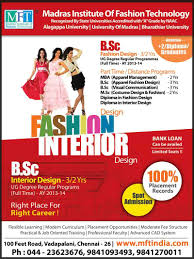 fashion designing courses in chennai at madras institute