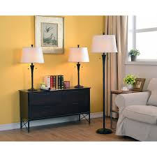 interior 3 piece lamp sets home decorations elegance 3 piece