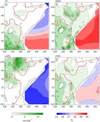 East Africa Map The Annual Cycle Of East African Precipitation Pdf Download