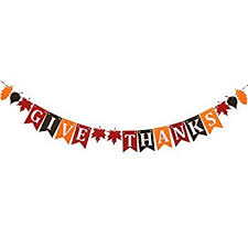 tinksky thanksgiving nonwoven banner home decoration