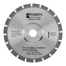 replacement blades roberts consolidated