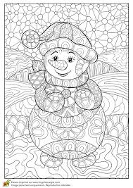 cute winter coloring pages 455 best winter and christmas coloring pictures images on pinterest