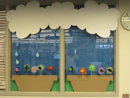 spring window display ideas april showers bring may flowers bulletin board ideas april showers