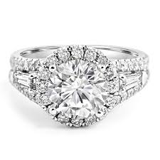 engagement rings with baguettes free rings with baguettes engagement rings