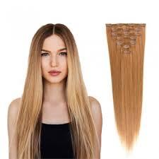 clip hair canada human hair clip in hair extensions canada 27 strawberry