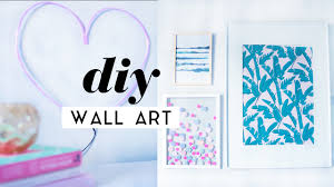 diy wall art room decor pieces gallery wall ideas 2017 youtube