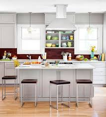eat in island kitchen to make your small kitchen feel larger