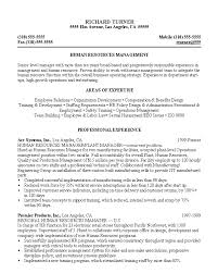 hr resume exles resume sle 8 hr manager resume career resumes