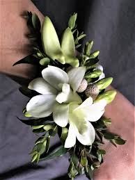 white orchid corsage white orchid corsage all that blooms glendale wi