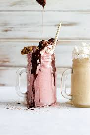 milkshake photography freakshake decadent vegan milkshake two ways sprinkle of green