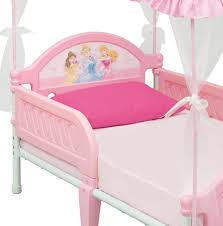 canopy toddler beds for girls amazon com disney princess toddler bed with canopy toys u0026 games