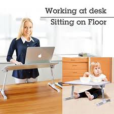 Laptop Bed Desk Desk Avantree Adjustable Laptop Bed Table Large Size Portable