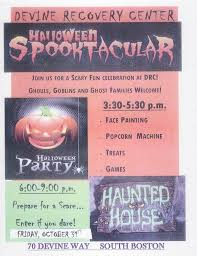 devine recovery center halloween spooktacular south boston