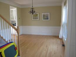 my dining room is the same color and has the same wainscoting