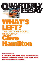 what s what s left quarterly essay