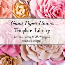 wedding backdrop design template paper flower templates tutorials diy paper flower