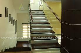 staircase home interiors kochi ernakulam dinning kitchen