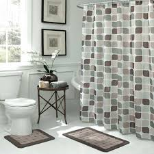 Shower Curtains With Matching Accessories Matching Shower Curtain And Bath Rugs Stylish And Chic