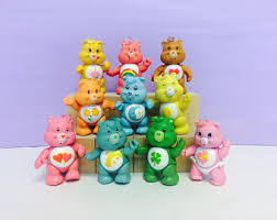 poseable care bear etsy