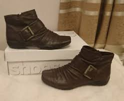 womens boots tu sainsbury s tu s comfortable ankle boots size 4 ebay