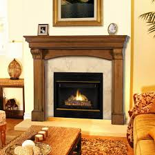 Pearl Mantels Pearl Mantels Blue Ridge Arched Fireplace Surround Hayneedle