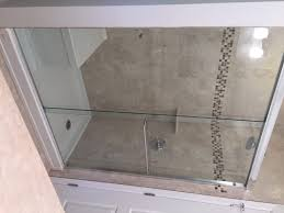 glass sliding shower doors sliding shower doors u2013 am and pm glass